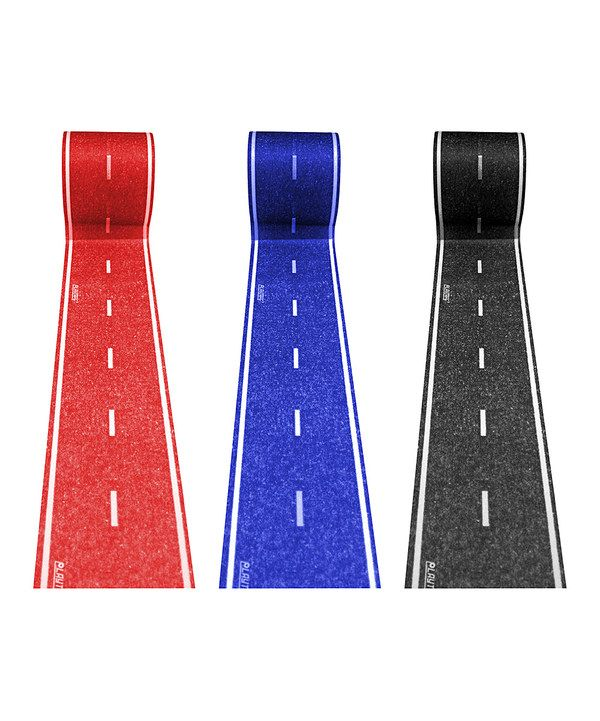 Look at this Red & Blue PlayTape Road Rolls Set on #zulily today!