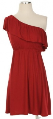 I own this dress and LOVE it.  Perfect for Game Day!  Roll Tide!!!