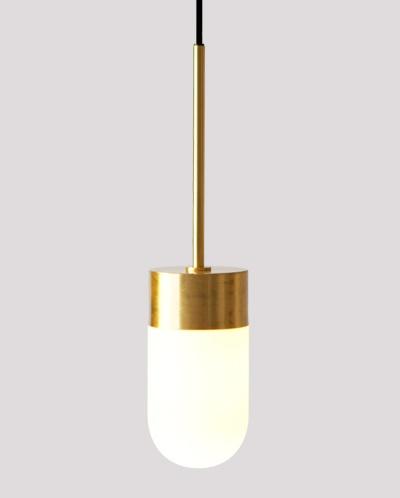 Vox pendant in brass from Rubn, design by Niclas Hoflin.