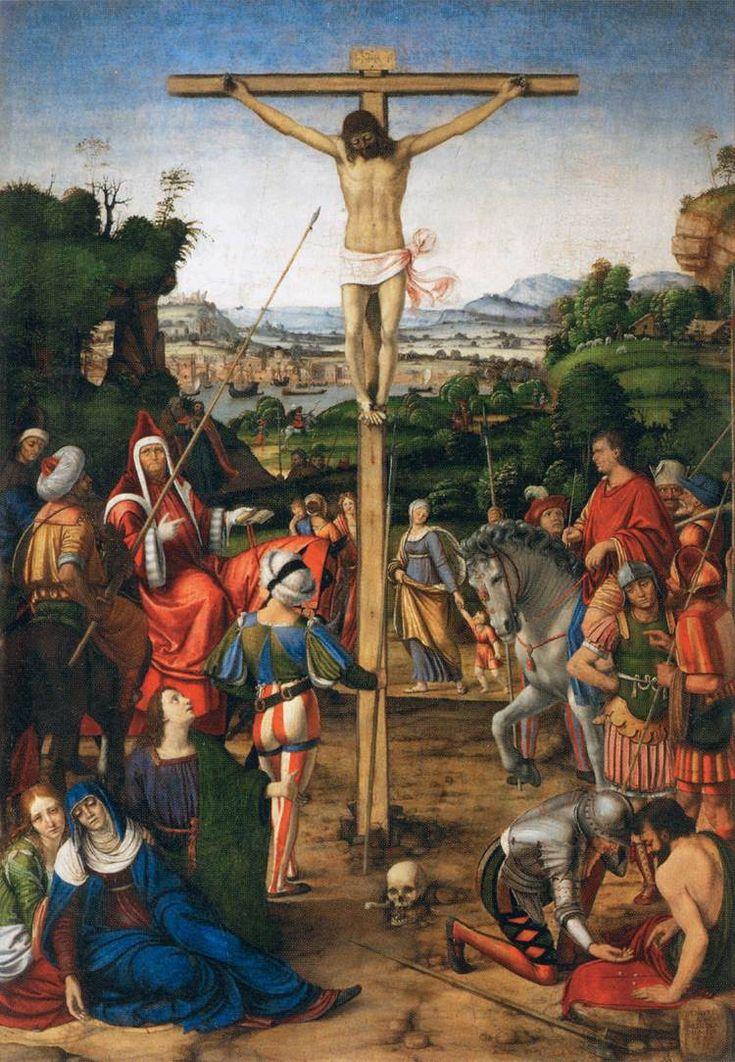 51 best muse du louvre images on pinterest ground floor marble andrea solari 1460 1525 christ on the cross 1503 oil on fandeluxe Images
