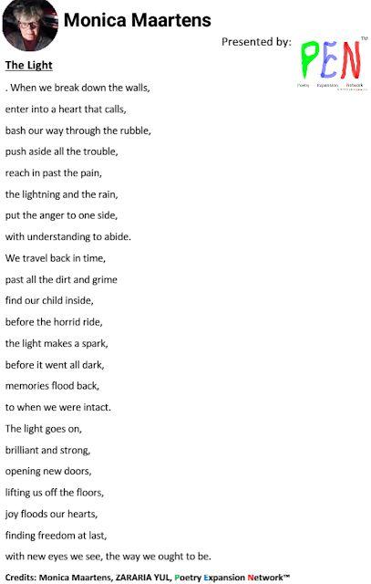 Getto Read Poetry International Billboard Top-20 Poets: Monica Maartens#1 Getto Read Poetry International ...