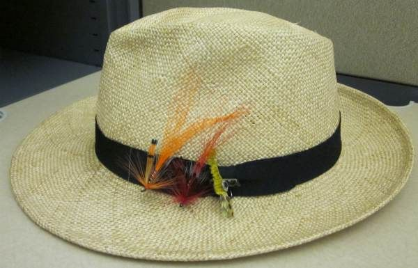 Helpful hint rehab a damaged men 39 s hat with fly fishing for Trout fishing hats