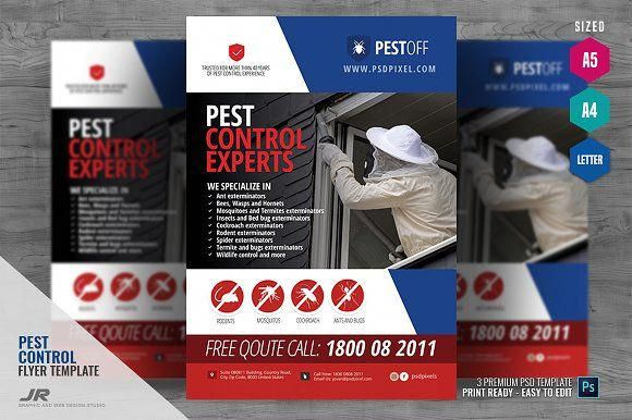 Pest And Animal Control Flyer In 2020 Pest Control Pests Animal Control