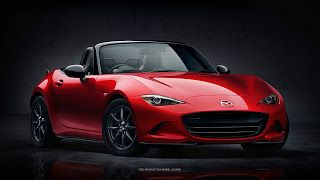 All New Mazda MX-5 Cooming Soon
