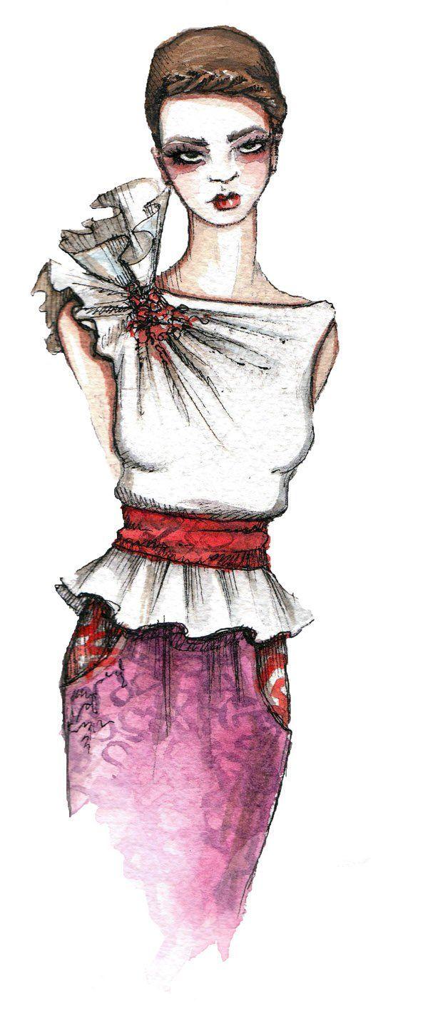 케이티 로저스 42 패션 스케치