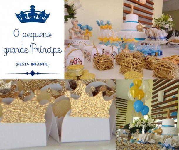 O PEQUENO GRANDE PRÍNCIPE {FESTA INFANTIL} Uma festa que une o simples e o elegante com a leveza da infância. Festa de 1 aninho digna de um pequeno grande príncipe!