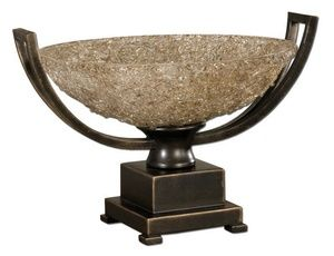 LunaWarehouse   Crystal Palace Centerpiece - Decorative Bowl