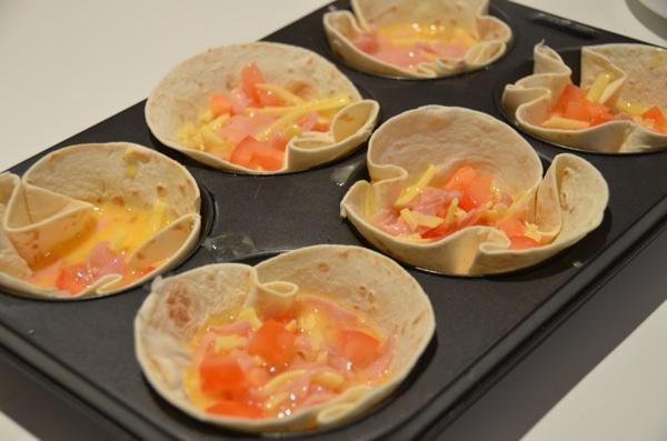 Mini Ham and Egg pies