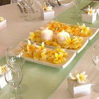 Svatební dekorace žlutá - Svatební dekorace, svatební výzdoba a svatební tabule   FLEUR imitée