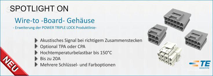 SHC GmbH - Neue Wire-to -Board- Gehäuse erweitern die POWER TRIPLE LOCK Produktlinie