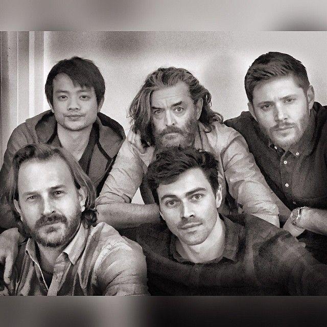 From Matt Cohen on Instagram - Osric, Timothy, Jensen, Richard and Matt - AHBL2015