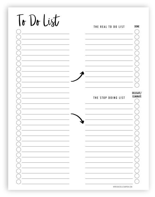 organize your to do list with this free printable it ll help you