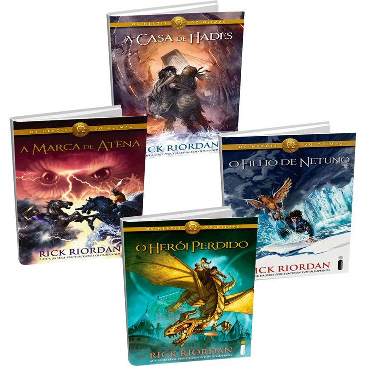 Kit Livros - Série Os Heróis do Olimpo (4 Volumes) - Submarino.com.br