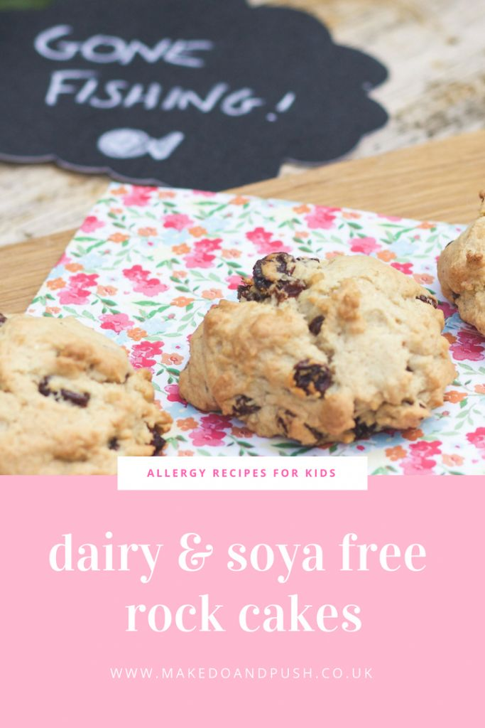 Recipe // Dairy and Soya Free Rock Cakes