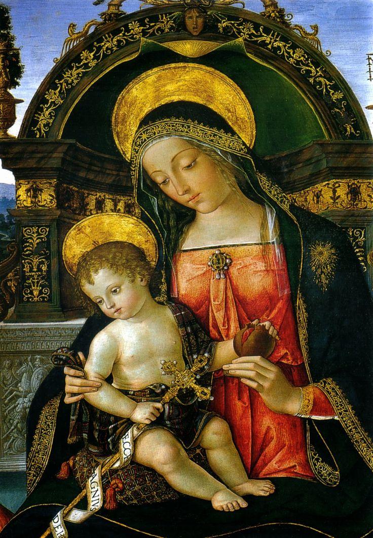 Творчество: ■ Bernardino di Betto (Pinturicchio)