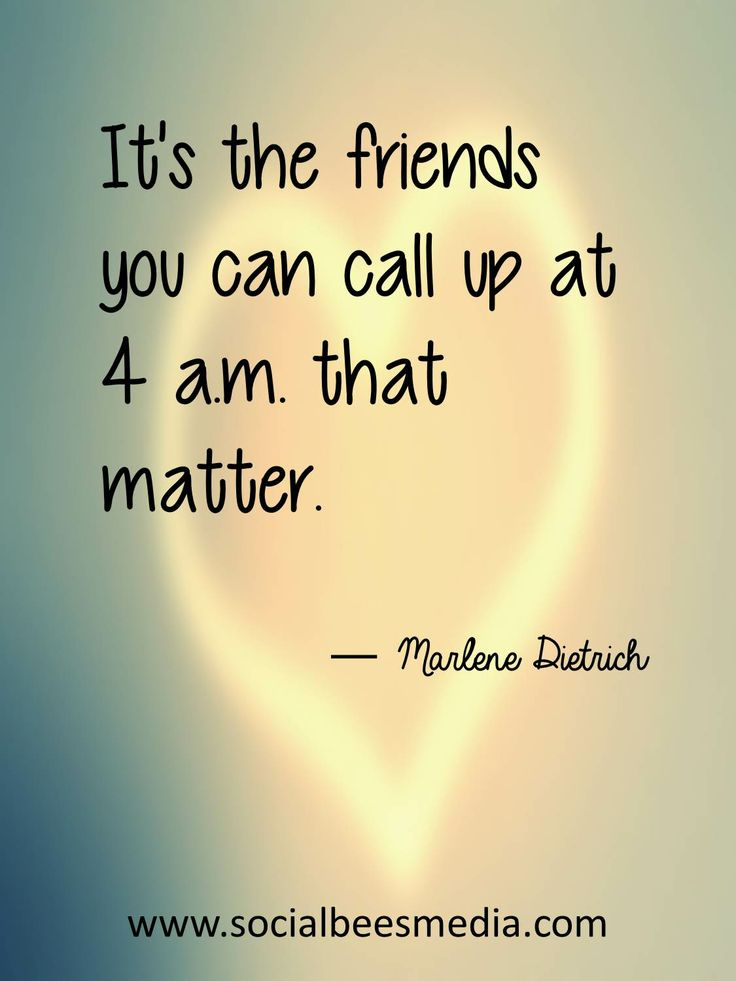 They are what you call... real friends. :) #frendship #quote