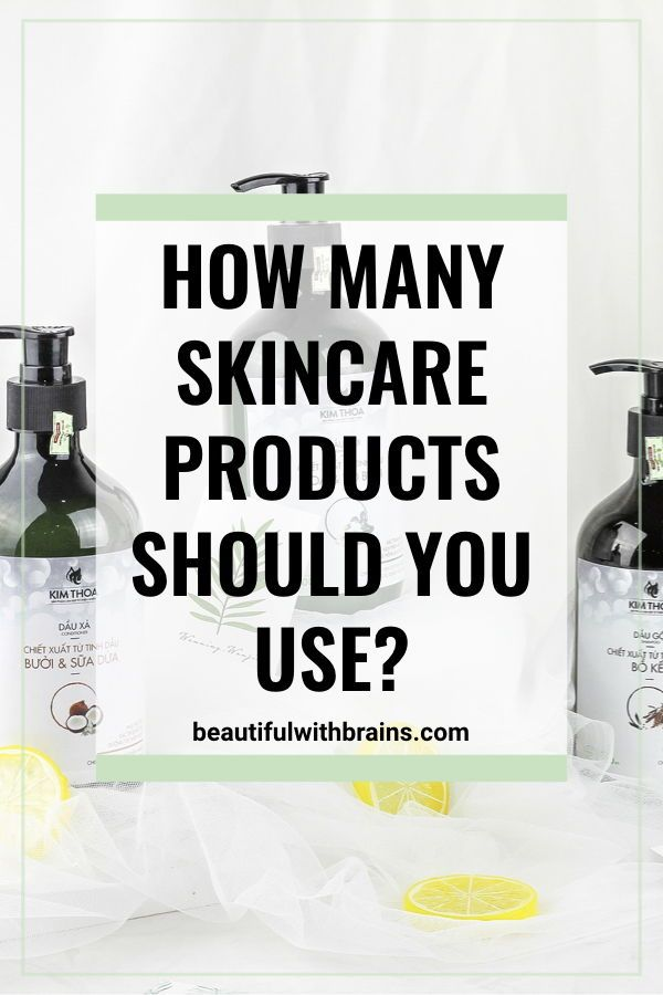 How Many Skincare Products Can You Use In Your Routine Organic Skin Care Natural Skin Care Skin Care