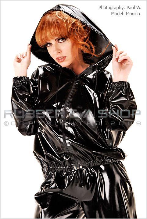 Hooded Tracksuit Jacket Coats Amp Jackets Rubber Eva