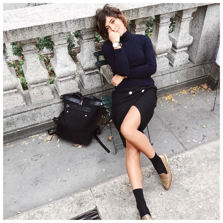 A cozy and cool outfit to hang out in. As seen on Troprouge.