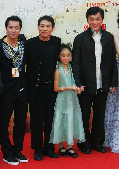 Jackie Chan Short Height