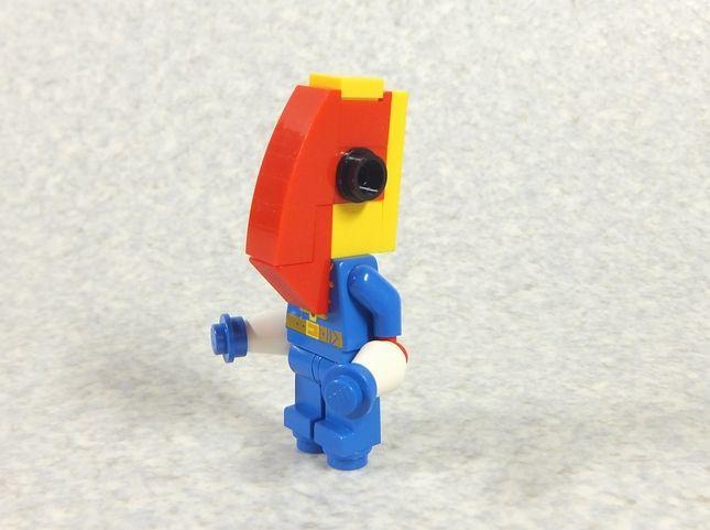 レゴブロックで作ったメトロン星人