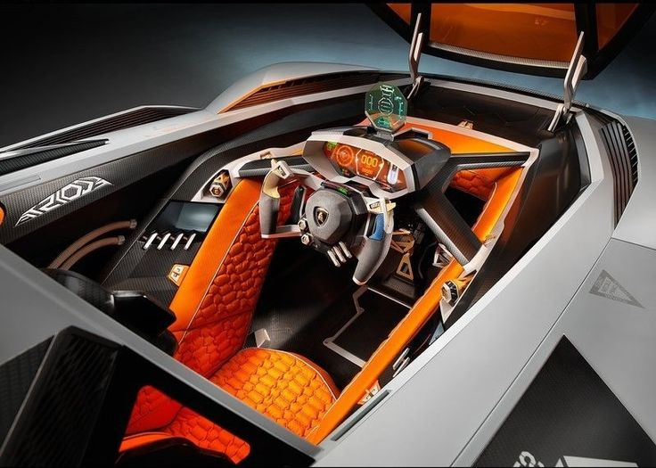 The Lamborghini Egoista Is A One Of A Kind Concept Car Unveiled By  Lamborghini For The Companys Anniversary.