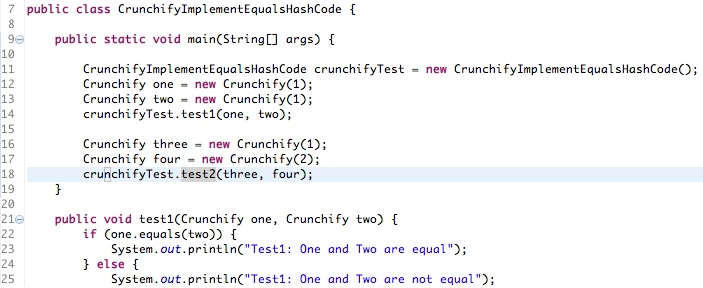 How to Override equals() and hashcode() Method in Java