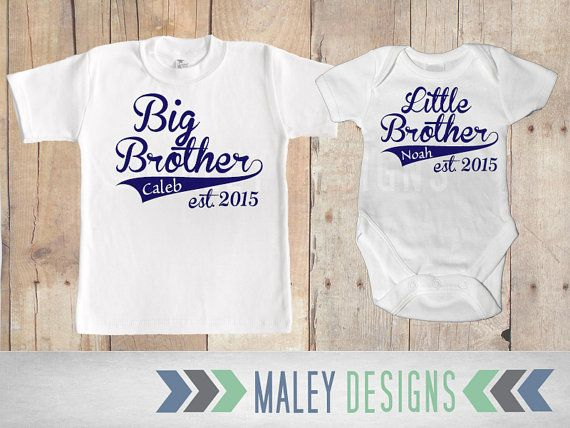Big Brother Little Brother Set / Matching Brother by MaleyDesigns $32 for  both! - 16 Best Big Brother, Little Brother Images On Pinterest