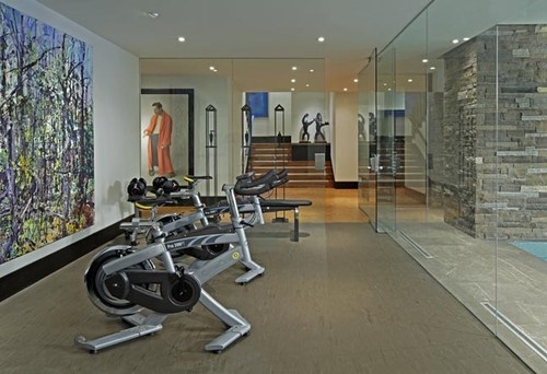 Exercise room contemporary home gym pinterest