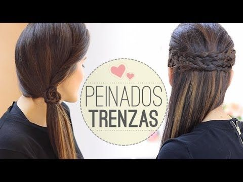 266 best images about peinados y recogidos on pinterest - Ideas para peinados faciles ...