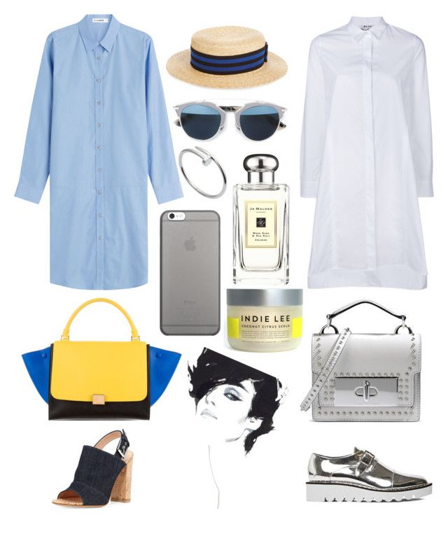 """#summer #set"" by olga-chistogasheva on Polyvore featuring Acne Studios, Jil Sander, STELLA McCARTNEY, Gianvito Rossi, Marc Jacobs, CÉLINE, Lanvin, Christian Dior, Jo Malone и Native Union"