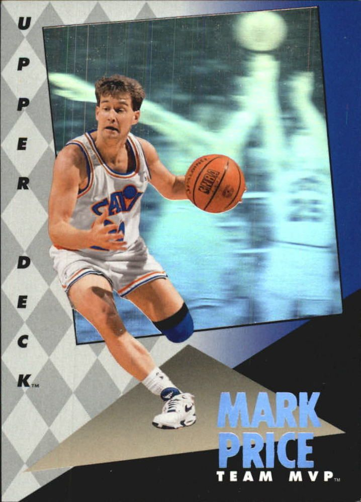 1992-93 UPPERDECK MVP HOLOGRAM # 5 MARK PRICE CLEVELAND CAVALIERS NMMT | Sports Mem, Cards & Fan Shop, Sports Trading Cards, Basketball Cards | eBay!