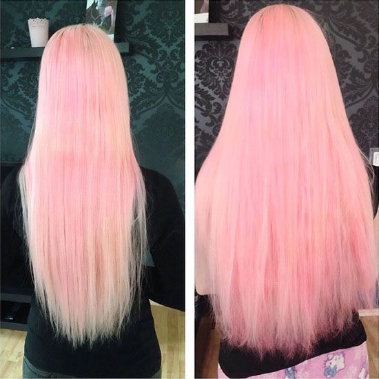 65 best redpink ombre hair styles extensions images on the hottest hair dye colors and ideas inspired by vpfashion beauties pmusecretfo Image collections
