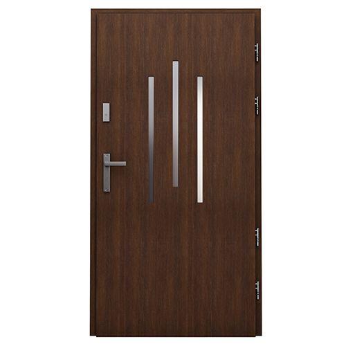 Drzwi zewnętrzne drewniane płytowe CAL Massi kolekcja Vocal  #vox #wystrój #wnętrze #drzwi  #inspiracje #projektowanie #projekt #remont #pomysły #pomysł #interior #interiordesign #moderndoors #homedecoration #doors  #door #drewna #wood #drewniana  #drzwizewnętrzne