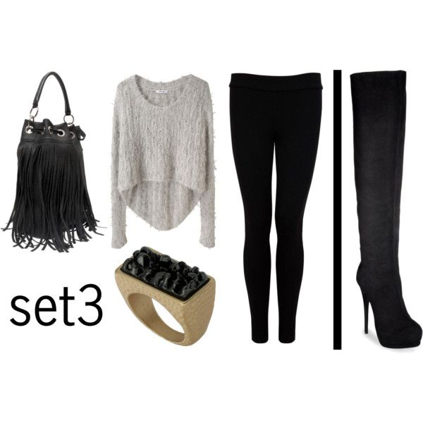 Over the Knee Boots Outfit Idea