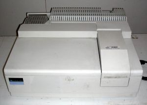 Perkin-Elmer Lambda Bio 20 UV-Visible Spectrophotometer.  1 mm to 10 mm  cuvettes used.