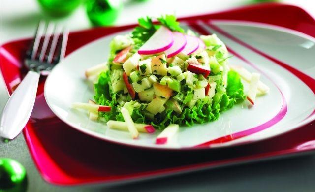Salade croquante quatre-saisons