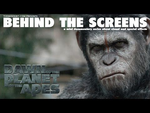 Dawn Of The Planet Of The Apes - Visual Effects - Motion Capture - YouTube