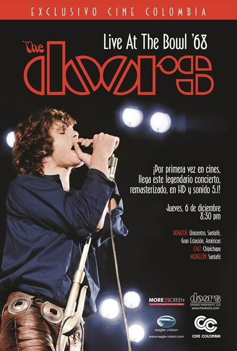 THE DOORS at the Bowl 68