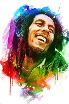 Photo of Bob Marley Artwork
