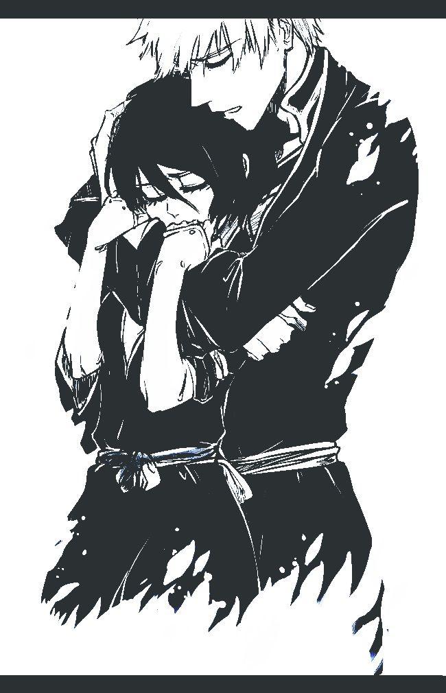 Tags: Anime, BLEACH, Kurosaki Ichigo, Kuchiki Rukia, deviantART