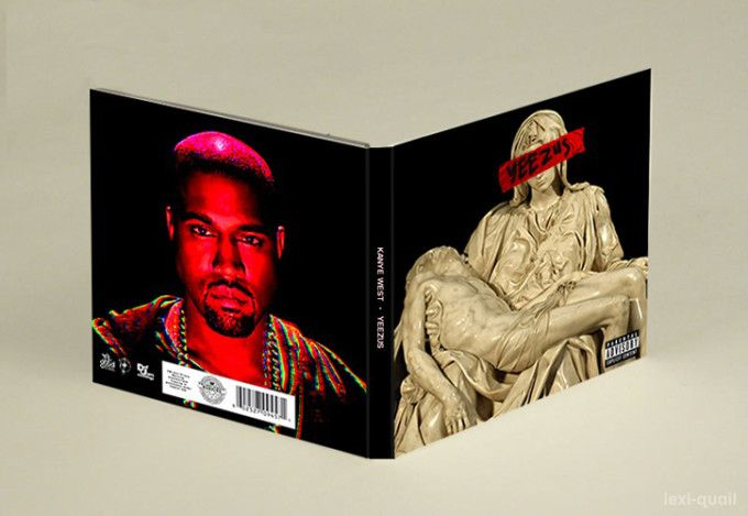 "Alexis Caille - The Best YeezyGraffiti ""Yeezus"" Album Covers 