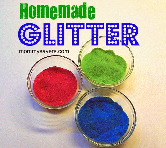 This will be fun when Gabriel gets older!: Salts Glitter Might, Food Colors, Toxic Glitter, Glitter Photo, Diy Salts, Edible Glitter, Diy Crafts, Homemade Glitter, Food Coloring
