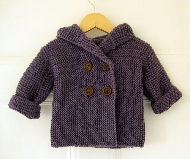 A Very Smooshy Baby Coat by gingergooseberry *Free pattern download, really cute, can't wait to try one!!