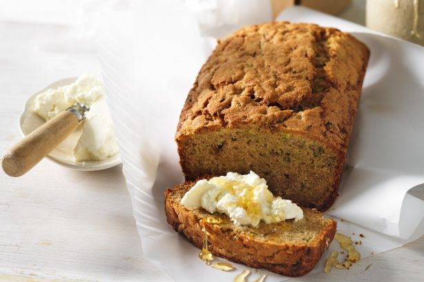 This summer squash shines in anything from fritters and pasta to this lovely bread that's ideal for a weekend brunch.  This sweet zucchini bread spiced with cinnamon is super easy to make.