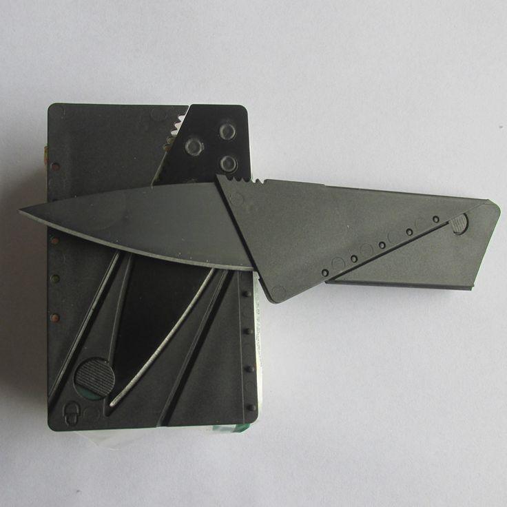 Карта нож складной нож кредитная карта инструмент мини кошелек отдых на природе открытый карманные инструменты тактический нож KD001 купить на AliExpress