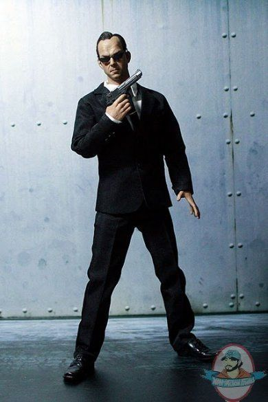 Hackers World Agent Smith 1/6 Scale 12 inch Action Figure CM Toys H002