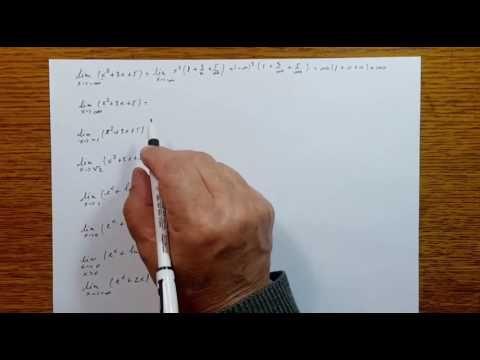 Operatii cu limite de functii - Analiza Matematica - Clasa a XI-a 110403-01