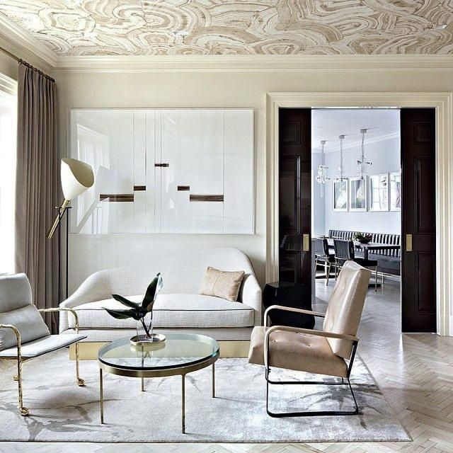 Homepolish Brooklyn Apartment Design With Cool Wallpaper: 25+ Best Ideas About Wallpaper Ceiling On Pinterest