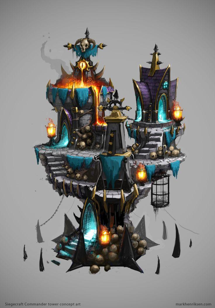 Siegecraft Commander Chaos Tower by mavhn on deviantART